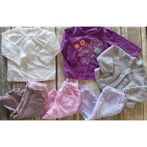 Baby Girl 3-6 months 6 piece lot